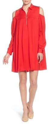 Catherine Malandrino Massima Cold Shoulder Dress