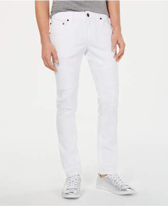 INC International Concepts I.n.c. Men Moto Skinny-Fit Jeans