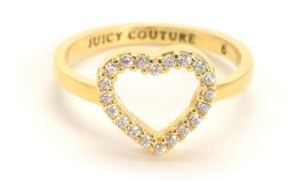 Juicy Couture Cutout Heart Ring