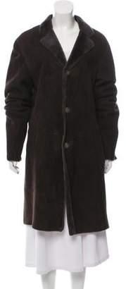 Etro Shearling Long Coat