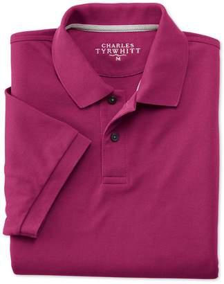 Charles Tyrwhitt Berry Pique Cotton Polo Size XS