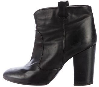 Laurence Dacade Leather Ankle Boots $125 thestylecure.com