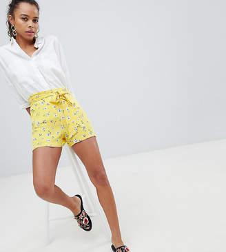 Parisian Petite Floral Shorts