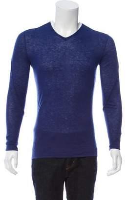 John Varvatos Cashmere V-Neck Sweater