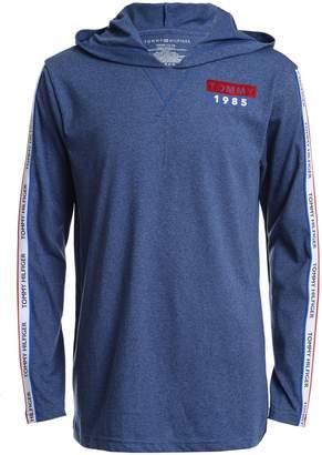 Tommy Hilfiger Little Boy's Side Logo Stripe Long-Sleeve Hoodie
