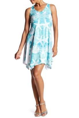 Couture Simply Racerback Asymmetrical Hem Dress