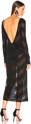 Zeynep Arcay for FWRD Knit V Dress