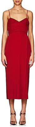 A.L.C. Women's Sierra Plissé Dress - Red
