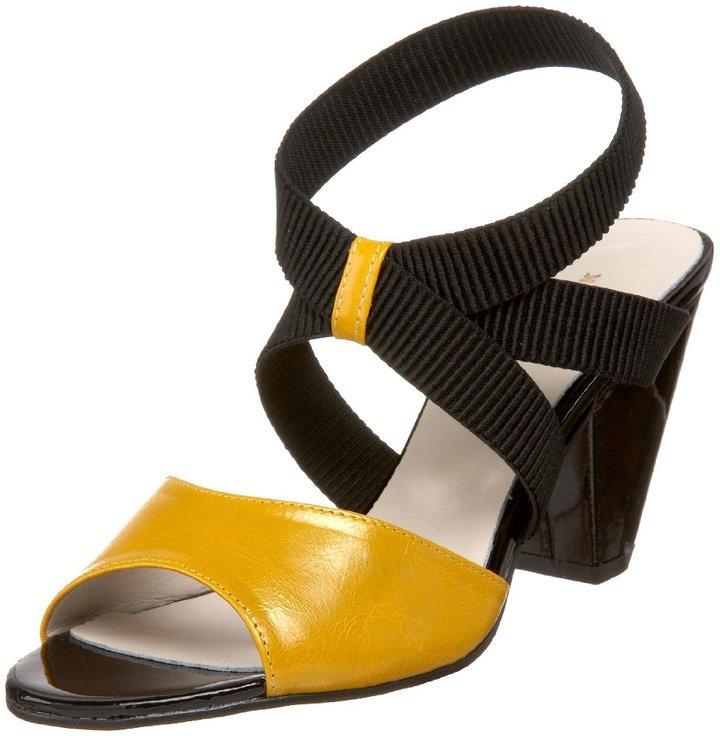 ALL BLACK Women's Ankle Band Sandal
