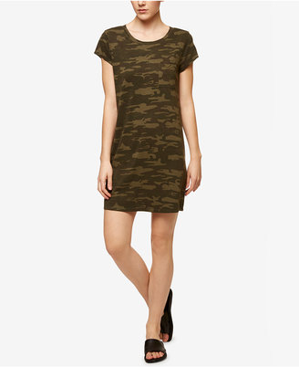 Sanctuary Camouflage-Print T-Shirt Dress $99 thestylecure.com