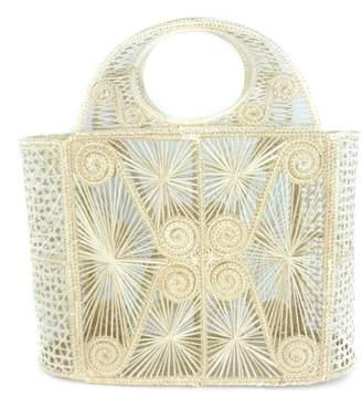 Luxchilas Iraca Palm Straw Basket