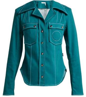 Chloé Denim Shirt - Womens - Blue