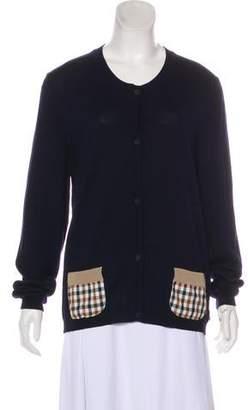 Aquascutum London Wool Knit Cardigan