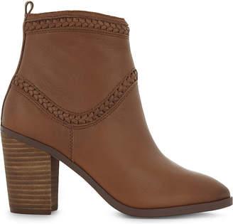 Aldo Cathrina leather heeled ankle boots