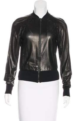 Prada Perforated Leather Jacket