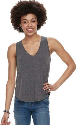 Mudd Juniors' Shirttail V-Neck Tank