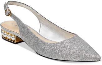 Marc Fisher Rise Slingback Pearl Flats Women's Shoes