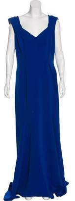 Zac Posen Sleeveless Evening Dress