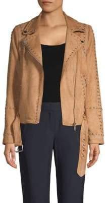 Driftwood Studded Moto Jacket