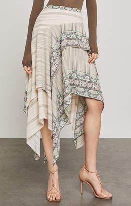 BCBGMAXAZRIA Bronwyn Asymmetrical Skirt