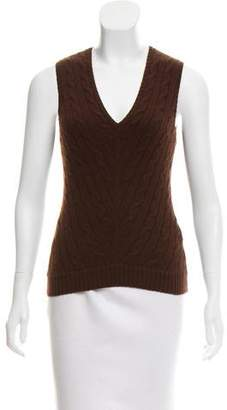 Ralph Lauren Cashmere Sleeveless Top