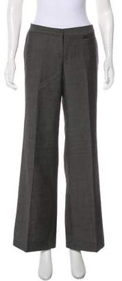 Burberry Mid-Rise Wool Pants