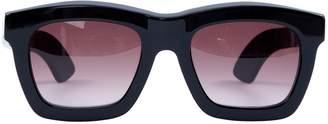 Non Signé / Unsigned Non Signe / Unsigned Black Plastic Sunglasses