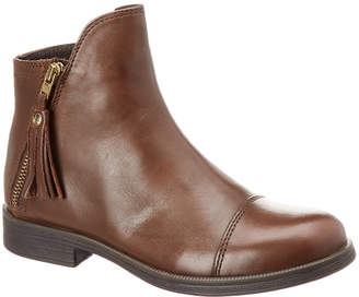 Geox Agata Leather Ankle Boot