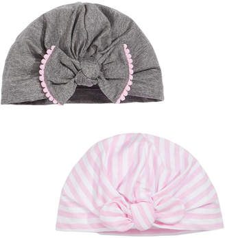 First Impressions Baby Girls 2-Pk. Turban Headbands, Created for Macy's