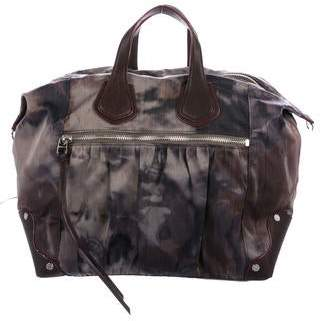 MZ Wallace Leather-Trimmed Satchel