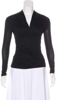 Les Copains Long Sleeve Jersey Top
