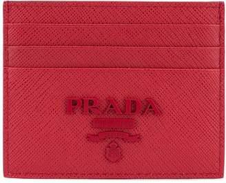 Prada (プラダ) - Prada ロゴプレート カードケース