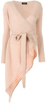 Twin-Set asymmetric belted top