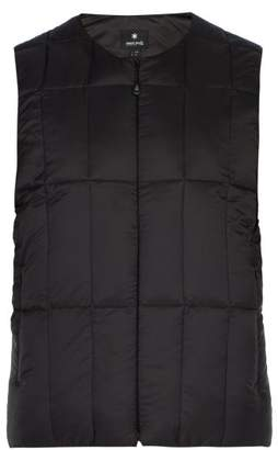 Snow Peak - Middle Down Quilted Gilet - Mens - Black