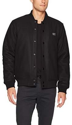 Obey Men's Soto Varsity Bomber Jacket