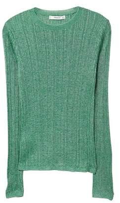 MANGO Metallic finish sweater