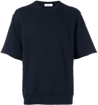 Jil Sander oversized short sleeves sweatshirt