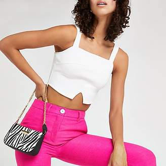 ccdec550f7cb2 White Cropped Top - ShopStyle