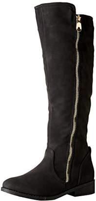 Qupid Women's Plateau-184BX Combat Boot
