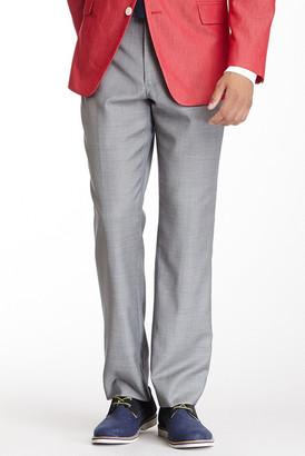 Tommy Hilfiger Tyler Gray Sharkskin Wool Dress Pant $150 thestylecure.com