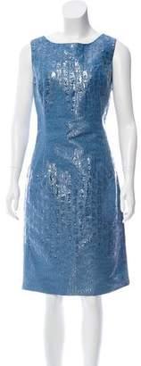 Oscar de la Renta Sleeveless Knee-Length Dress w/ Tags