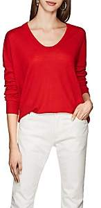 Zadig & Voltaire WOMEN'S PREPPY M MERINO WOOL SWEATER - RED SIZE S