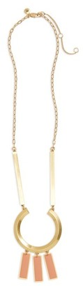 Women's Madewell Ring Statement Necklace $55 thestylecure.com