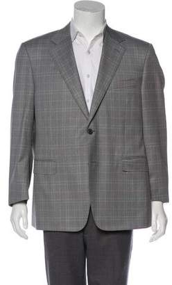 Canali Wool Notch-Lapel Blazer