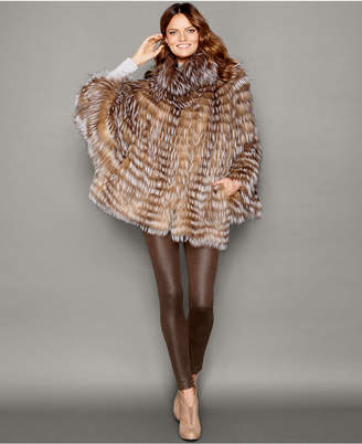 The Fur Vault Fox Fur Cape