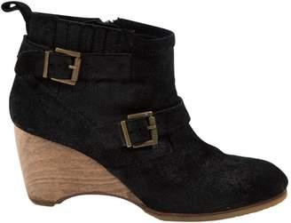 Vanessa Bruno Black Suede Ankle boots