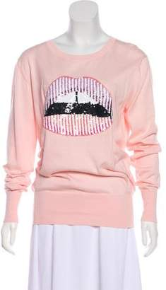 Markus Lupfer Lightweight Embellished Sweater