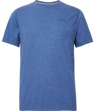 Patagonia Nine Trails Slim-Fit Mélange Jersey T-Shirt