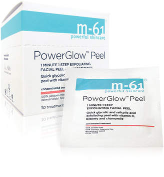 M-61 by Bluemercury PowerGlow Peel 1 Minute 1-Step Exfoliating Facial Peel - 60 Treatments