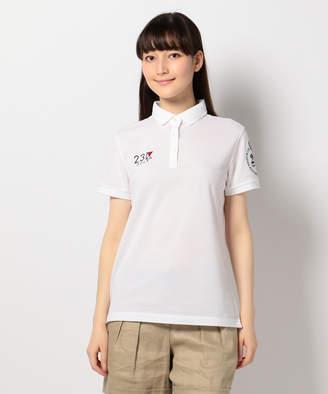 23区 (ニジュウサンク) - 23区GOLF 【WOMEN】【20周年記念】3色超長綿シルケットカノコ ポロシャツ(C)FDB